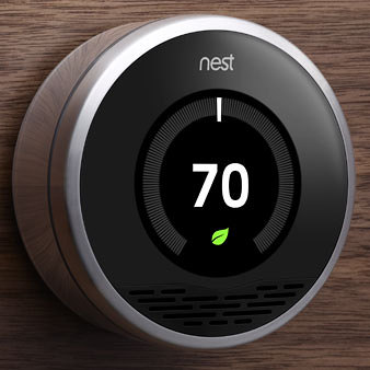 New Technology! Climate Design is an authorized dealer of the Nest™ Learning Thermostat
